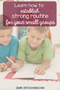 small-group-instruction-ideas
