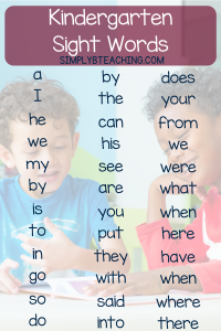 how-to-teach-a-child-sight-words