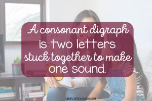 consonant digraph definition