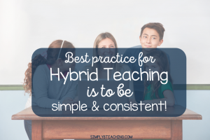 hybrid teaching best practices
