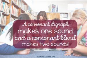 consonant digraph vs blend
