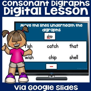 consonant-digraphs-worksheet
